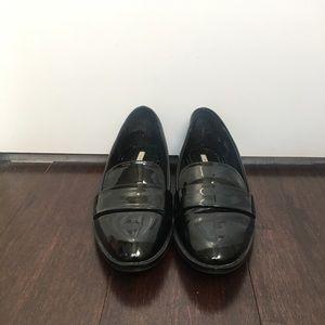 Zara Patent Leather Slippers Women's Euro 38